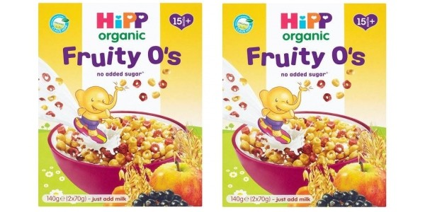 RECALL: HiPP Organic Fruity O's Breakfast Cereal