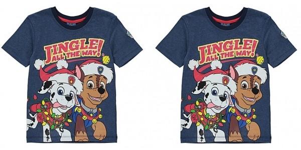 Paw Patrol Christmas T-shirt From £5 @ Asda George