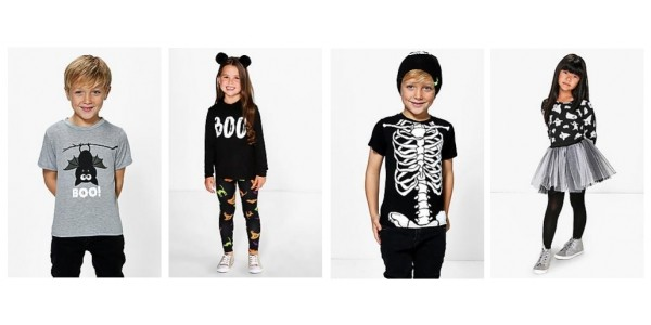 Kids Halloween Clothing From £5 @ Boohoo