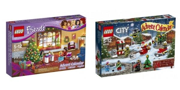 Lego City/Friends Advent Calendar £15.97/£14.97 @ Asda George