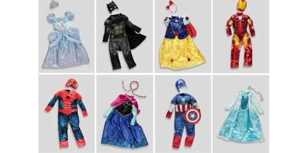 Children's Fancy Dress Costumes £10 @ Matalan