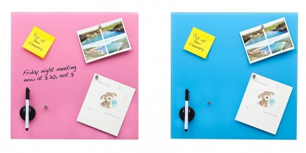 Glass Magnetic Memo Board With Magnets, Eraser & Dry Wipe Pen £12.99 @ Tesco Direct