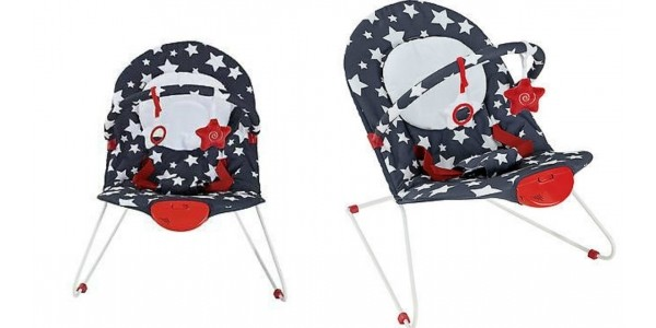 Coleen Blue Stars Bouncer £15.94 Delivered @ eBay: Littlewoods Clearance