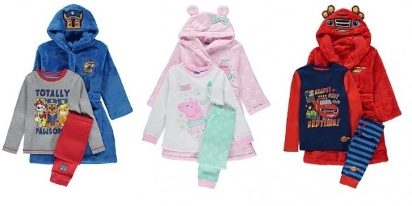 Pyjama & Dressing Gown Sets From £14 @ Asda George