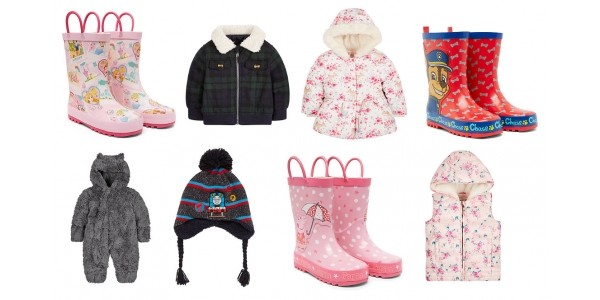 25% Off Kids Winter Warmers @ Mothercare