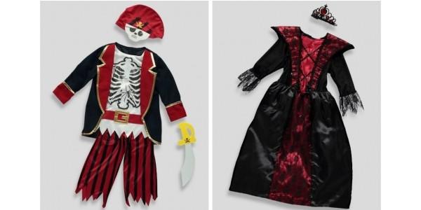 Children's Halloween Costumes Reduced @ Matalan