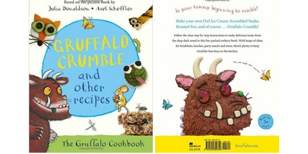 Gruffalo Crumble And Other Recipes Book £5 @ Amazon