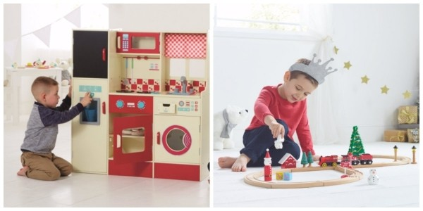 Spend £50 On Wooden Toys Get 20% Off @ Asda George