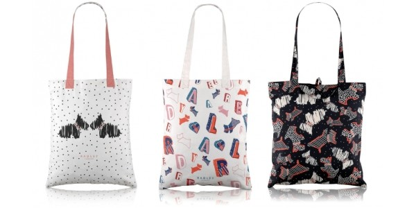 Radley Canvas Tote Bags From £9 @ Very