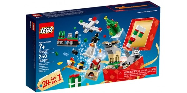 FREE Lego 24-in-1 Christmas Build Up Set When You Spend £60 @ The Lego Shop