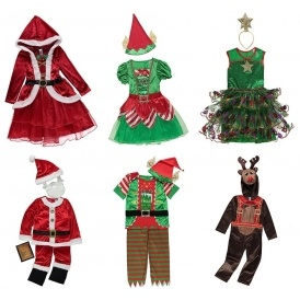 Father christmas outfits asda home