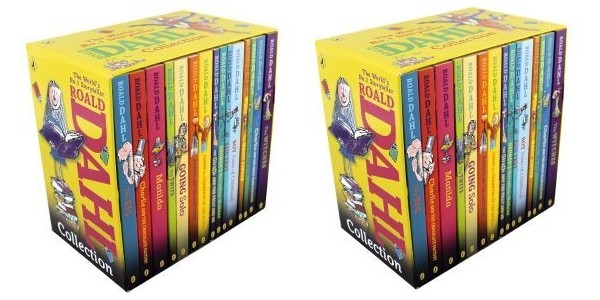 Roald Dahl 15 Book Collection Just £17.59 (Using Code) @ The Book People (Expired)