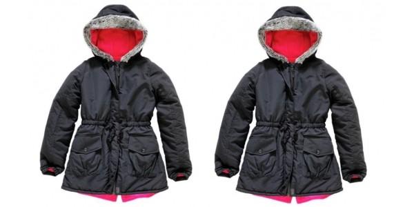 Girl's Parka Coat £9.99 @ Argos