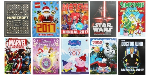 2017 Children's Annuals £3.20 Using Code @ The Works