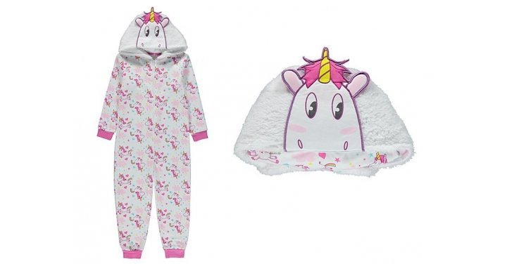 Children S Unicorn Onesie Pillow From 163 11 Asda George