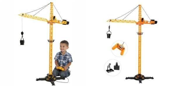 JCB Remote Control Crane Tower Construction Toy £11.99 @ Home Bargains