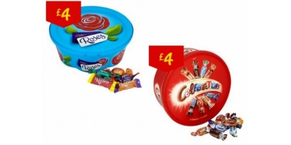 FREE Tub Of Celebrations/Heroes/Quality Street/Roses With First Asda Shop @ CheckoutSmart App
