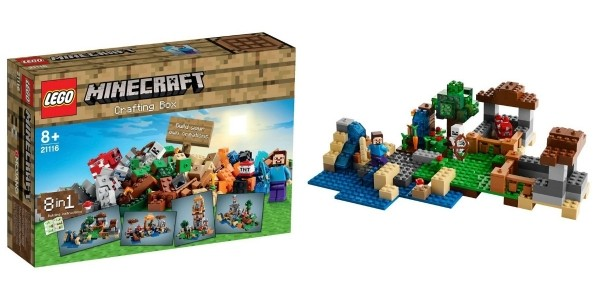 LEGO Minecraft Crafting Box 21116 £29.99 (With Code) @ Smyths (Expired)