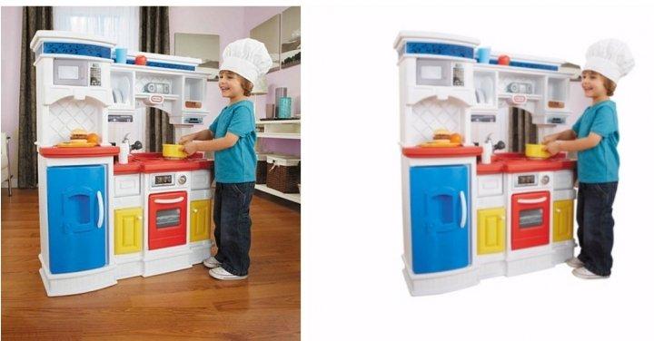 little tikes gourmet prep 39 n serve kitchen 60 asda george. Black Bedroom Furniture Sets. Home Design Ideas