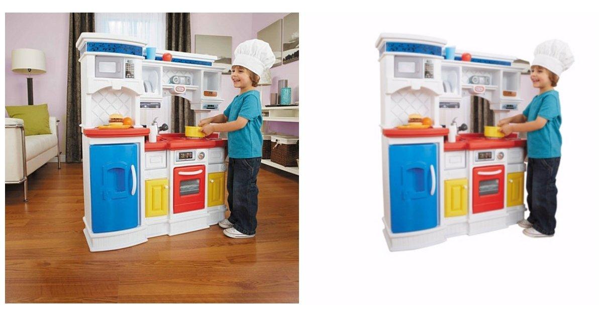 little tikes gourmet prep 39 n serve kitchen 31 asda george. Black Bedroom Furniture Sets. Home Design Ideas