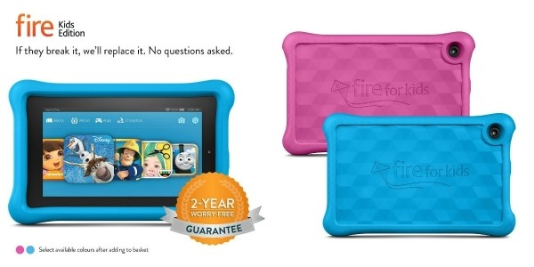 Fire Kids Edition Tablet 16 GB With Kid-Proof Case £75.05 Delivered @ Amazon