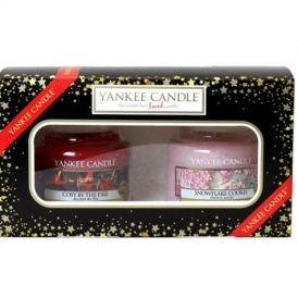 yankee candle christmas 2 small jar candle gift set 999 bootscom