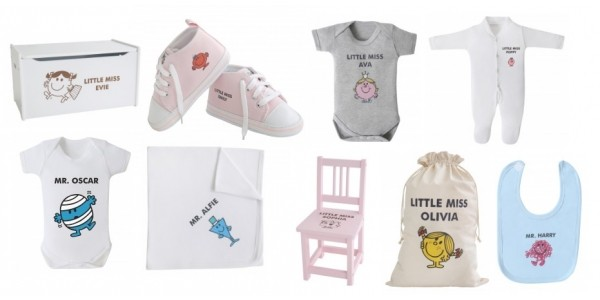Personalised Mr Men & Little Miss Range Now Available @ My 1st Years Plus 10% Off Discount Code