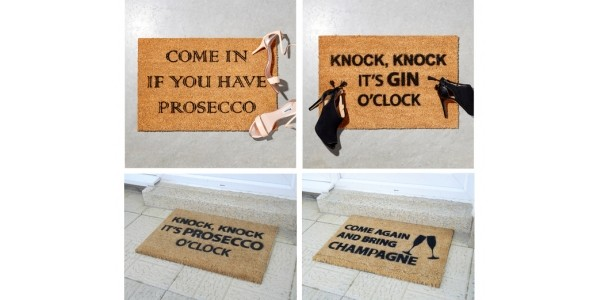 60% Off Novelty Doormats Including 'Come In If You Have Prosecco' Now £9.99 @ I Want One Of Those