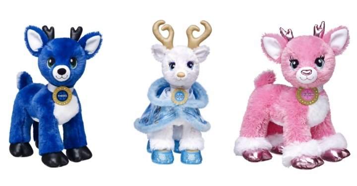 Three New Reindeer Released For Christmas 2016 @ Build A Bear