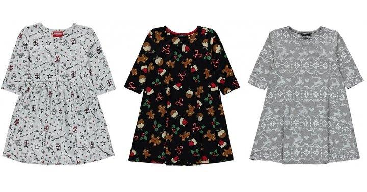 Girl S Christmas Dresses From 163 5 Asda George