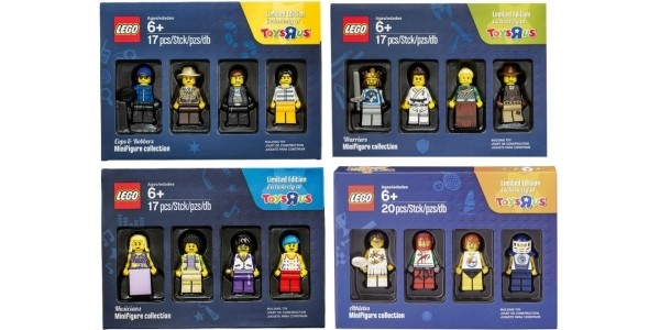 FREE Lego Minifigure Collection Worth £9.99 When You Spend £45 On Lego @ Toys R Us