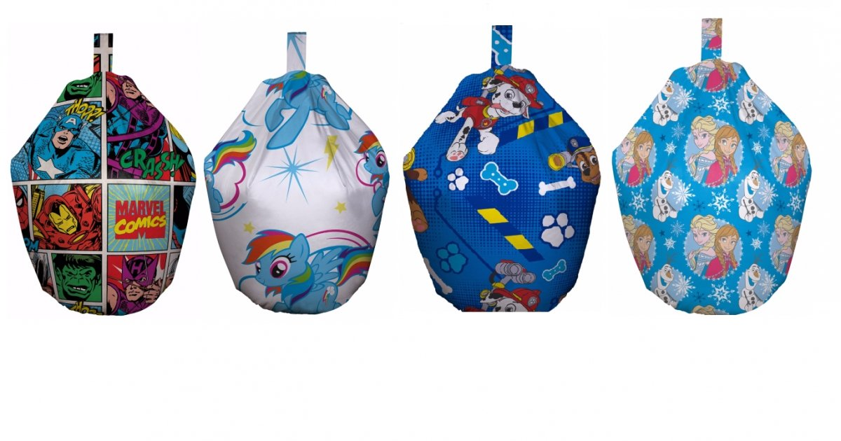Up To 60 Off Childrens Character Beanbags Asda George