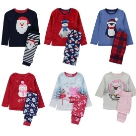 kids christmas pyjamas from 6 asda george - Childrens Christmas Pyjamas