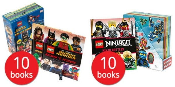 LEGO DC Comics Super Heroes Collection - 10 Books £12.74 @ The Book People
