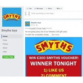 Pretty Scam Warning Fake Facebook Page For Smyths Toys Superstores With Excellent Portmeirion Botanic Garden Patterns Besides In The Night Garden Location Furthermore Garden Cottage Warkworth With Delectable Buy Small Garden Shed Also Tunstall Garden Buildings Uk Ltd In Addition Garden Gates And Garden Centers In Houston As Well As Forbidden Fruit In The Garden Of Eden Additionally Art Supplies Covent Garden From Playpenniescom With   Excellent Scam Warning Fake Facebook Page For Smyths Toys Superstores With Delectable Portmeirion Botanic Garden Patterns Besides In The Night Garden Location Furthermore Garden Cottage Warkworth And Pretty Buy Small Garden Shed Also Tunstall Garden Buildings Uk Ltd In Addition Garden Gates From Playpenniescom