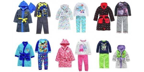 Offer Stack: Selected Kids Pyjamas Up To A Third Off + 3 for 2 @ Argos (Expired)
