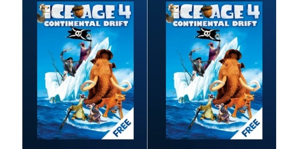 FREE Ice Age 4: Continental Drift DVD and Download for Sky Customers (Expired)