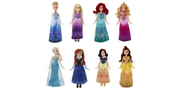 Disney Princess Fashion Dolls Buy One Get One For A Penny @ The Entertainer