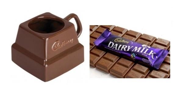 Cadbury's Chunk Mug With Free Bar Of Dairy Milk £6.99 plus p&p @ Applause Store