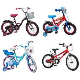 Kids grow. So should bikes. Pay just £ a month for your childs bike. When they grow out of it, exchange for a bigger one.
