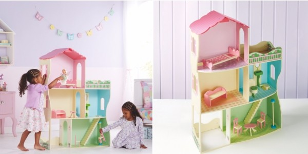Wooden Dolls House with Furniture £30 (was £50) @ Asda George