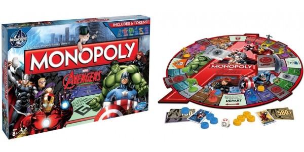 Avengers Monopoly £9.96 @ Toys R Us