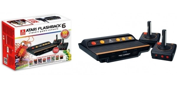 Atari Flashback 6 Classic Game Console & 100 Built-In Games £34.99 (was £49.99) @ Argos