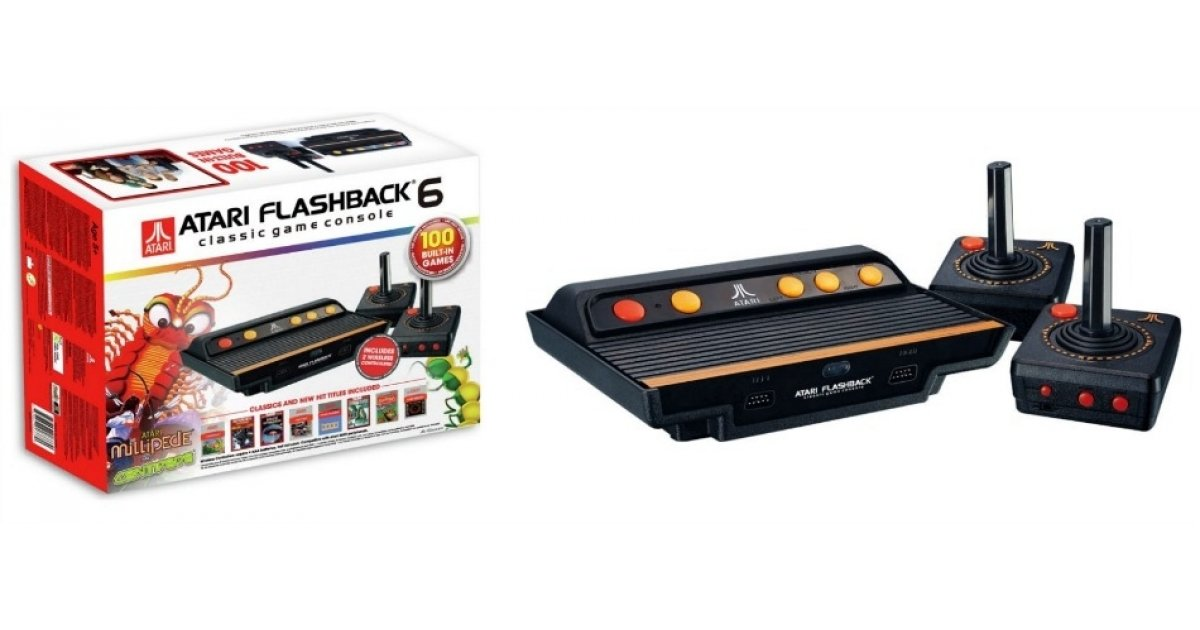 Atari flashback 6 classic game console 100 built in - Atari flashback 3 classic game console ...