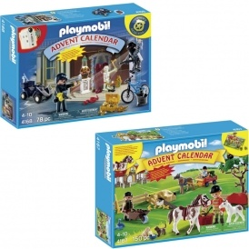 Playmobil Advent Calendars £12.99 With Free Delivery @ Argos