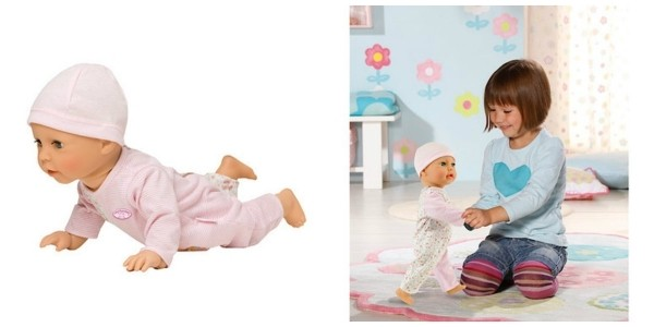 Baby Annabell Learn to Walk Doll £33.32 @ The Entertainer
