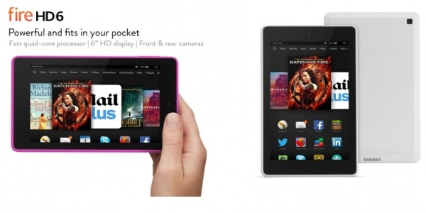 "Black Friday: £40 Off Fire HD6 6"" HD Display, Wi-Fi, 16 GB Tablet @ Amazon"