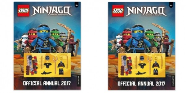 Official Lego Ninjago Annual 2017 £3.50 @ Amazon