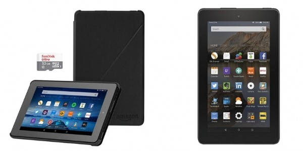 Amazon Fire 7, 16GB With Case & 32GB Memory SD Card £49.99 @ Tesco Direct