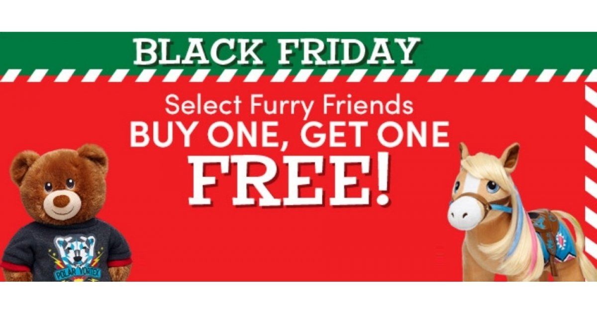 Buy One Get One Free Furry Friends @ Build-a-Bear